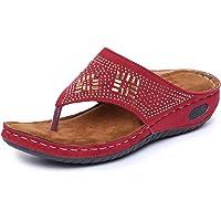 TRASE 44-062 Fancy Comfort Slippers for Women
