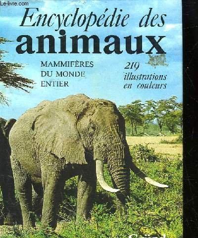 Encyclopédie des animaux: Mammifères du monde entier par Vratislav Mazak, Vladimir Hanak