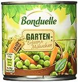 Bonduelle Garten-Erbsen mit Möhrchen , 6er Pack (6 x 400 g Dose)
