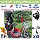 carfreeshop golf-buggy1306 Elektro Scooter mit 3 Rädern