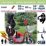 carfreeshop golf-buggy1306Elektro Scooter mit 3Rädern