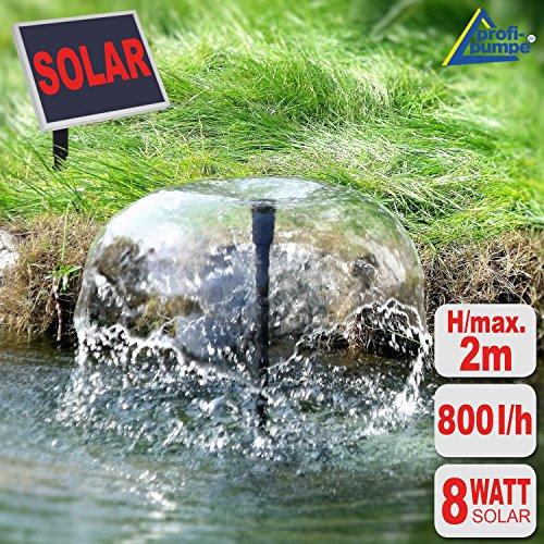 Amur Solar Teichpumpe Oasis - 8