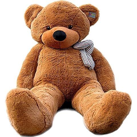 Joyfay Marca oso de peluche gigante 200cm de la muñeca de juguete suave de la felpa de peluche oso de peluche de juguete Color marrón