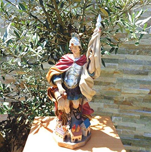 Grande ÖLBAUM-PREMIUM-Statuetta Santa, con acqua teiera e