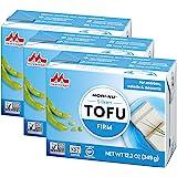 MORINAGA Tofu, Firm, 349g, Pack of 3
