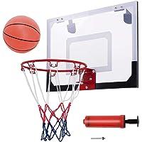 DREAMADE Basketballbrett, Basketball Backboard Basketballboard, Basketballkorb Wandmontage, Basketballbrett mit Korb für…