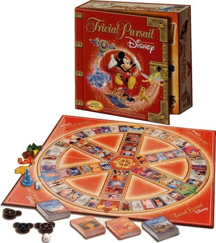 Trivial Trivial Trivial Pursuit Disney Edition by Hasbro B0001GDOZQ b6bb46