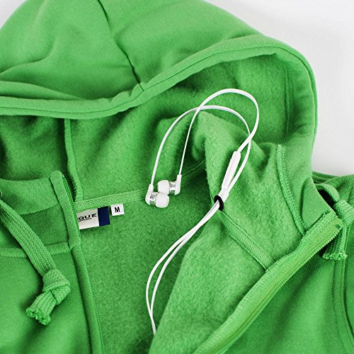 Felpa maglia cardigan full-zip cappuccio uomo cotone CQ021034 Blu