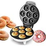 Machine à Donut, Appareil à Beignets, Donut 7 Trous, Plaques Chauffantes Antiadhésives, Cuisson Au Four DIY