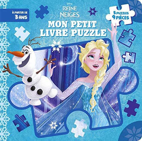 REINE DES NEIGES - Mon Petit Livre Puzzle