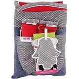 Minene - Colchoneta para cochecito de bebé (incluye almohadillas para cinturón)