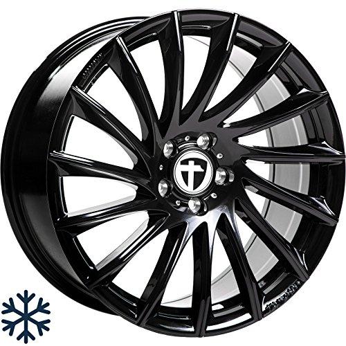 Tomason TN16 Black 5X108 ET40 HB72.6 TN16 Paire de baguettes Noir