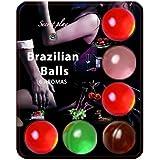 Brazilian Balls Set de 6 Boules Bresiliennes Différentes Saveurs