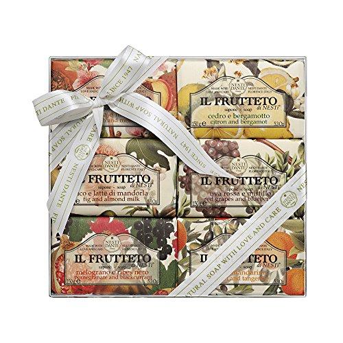 Nesti Dante Il Frutteto Soap Set, 6er Pack (6 x 150 g) -