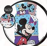 Bettwäsche Bettbezug wendbar Disney & # •; Mickey