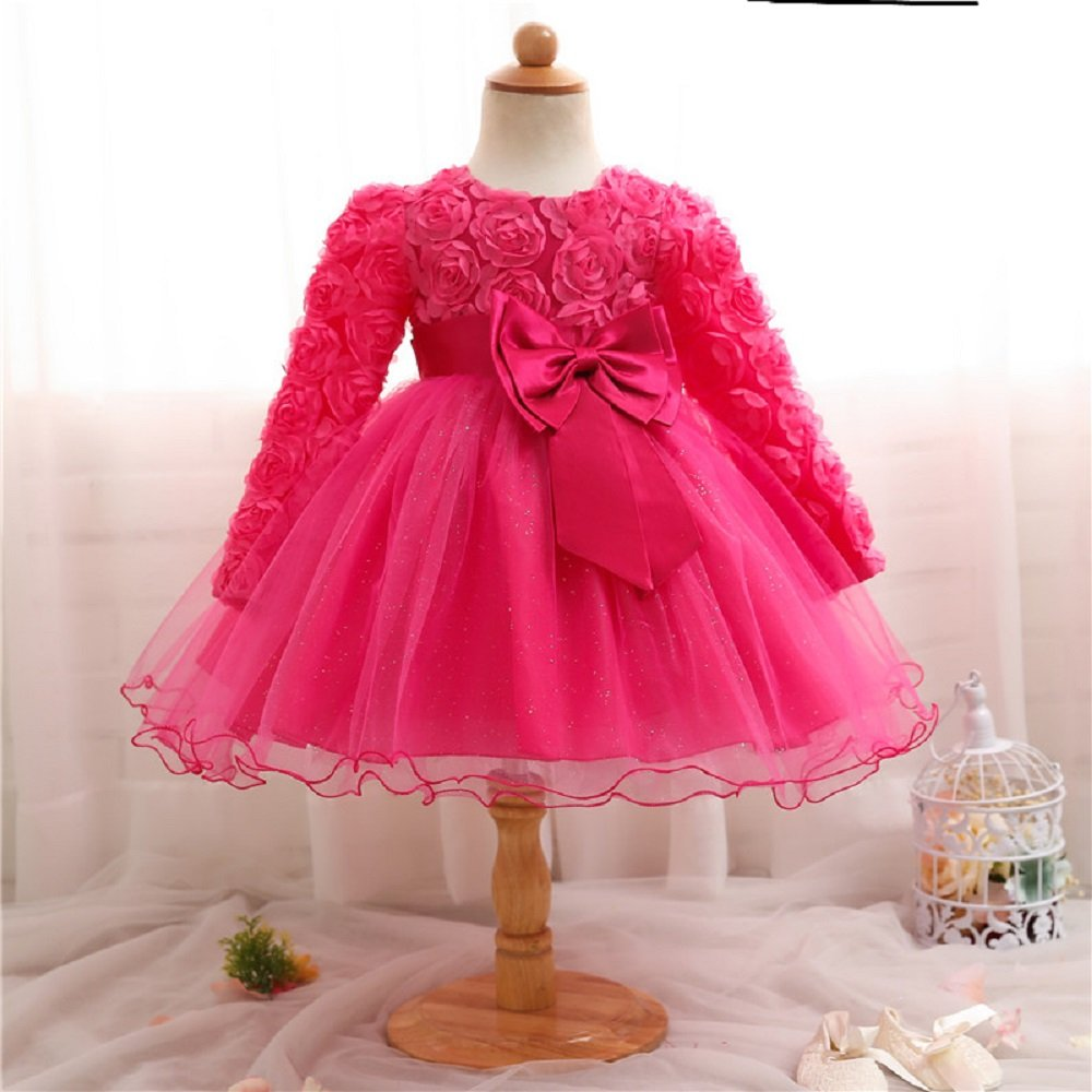 London Winter Kids Dresses For Girls Baby Birthday Outfits Party Costume Tulle 1 2 Years Old