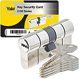 Yale YC2100 - Cilindro di serratura per frizione, YC2100 DB 40X40 NI