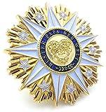 Die besten Papa Auszeichnungen - Ausgefallener Geschenk-Orden Bester Papa der Welt mit edler Bewertungen