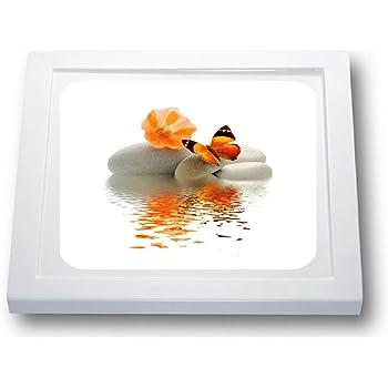 Anti Rutsch Aufkleber Dusche Insel 41 x 41 cm, Standard Herz * Antirutschmatte Duschwanne