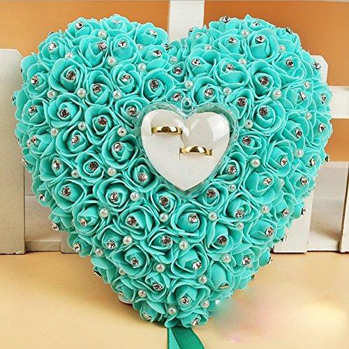 bpblgf Herzform für Ringe, Bubble Blume, Rosa, 1, 22 * 20cm