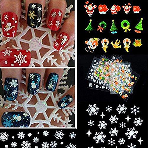 ZUMUii Butterme 12Pegatinas para uñas
