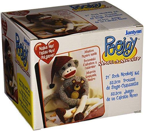 Janlynn peejay die Socke Affe, (Peejay Sock Monkey)