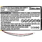 Akku-King 20105074 Polímero de litio 1700mAh 3.7V batería recargable - Batería/Pila recargable (1700 mAh, 6,3 Wh, Polímero de litio, 3,7 V, Negro, Blanco, 1 pieza(s))
