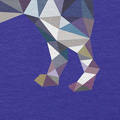 TEXLAB - Poly Dog - Herren Langarm T-Shirt Marine