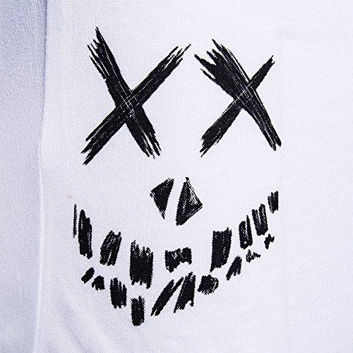 Cosmic Joker Baseball Top (Schwarz/Weiß) Schwarz/Weiß
