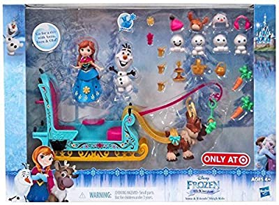 Disney Frozen Little Kingdom Anna & Friends' Sleigh Ride Playset by Disney Frozen de Hasbro Toys