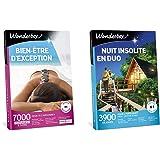 Wonderbox – Coffret cadeau femme - BIEN ETRE D'EXCEPTION – 7000 soins dont rituel polynésien au monoï, massage à la bougie, s