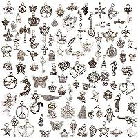 100 Stücke gemischte Charms Anhänger DIY für Schmuck machen und basteln