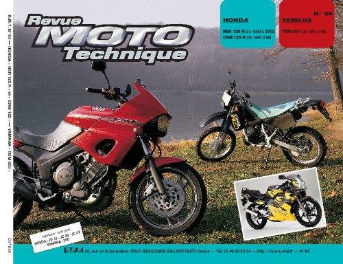 Revue Moto Technique n° 85.3 Honda NSR et CRM 125R Yamaha TDM 850 par Etai