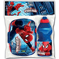 Spiderman - Set Borraccia + portamerenda
