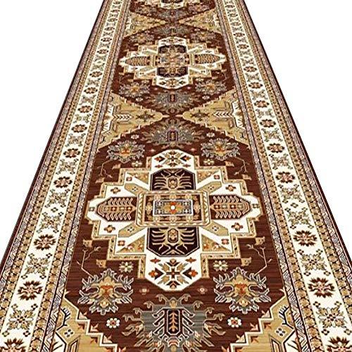 Inicio corredores, pasillos, alfombra Hall de Entrada Alfombra Larga Patrón Tradicional Antideslizante...