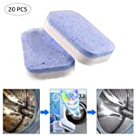 Washing Machine Cleaner Tablets, Washer Decontamination Cleaning Detergent Effervescent Tablet Washing Machine Cleaner...