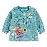 Bóboli Baby Mädchen Bluse mit Blumen-Applikationen Gr. 56