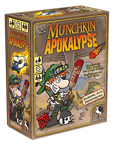 Pegasus-Spiele-17242G-Munchkin-Apokalypse-12 Pegasus Spiele 17242G – Munchkin Apokalypse 1+2 -
