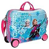 Disney 4199961 Frozen Elsa e Anna, Valigia Per Bambini, Trolley Viaggio, 50 Centimetri, 34 Litri, Multicolore
