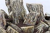 3kg naturbelassene, dunkelgraue Steine für ein Aquarium, Aquariengestaltung, Iwagumi-Stil
