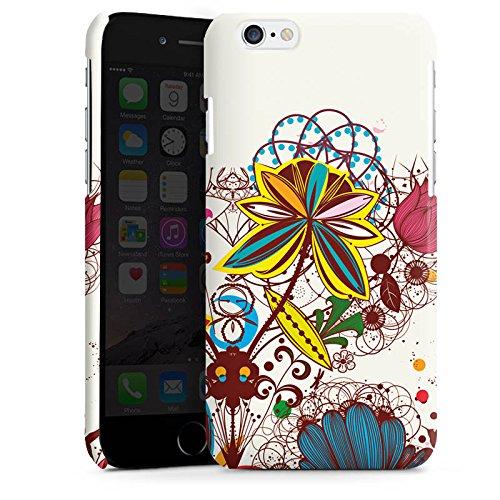 Apple iPhone 4 Housse Étui Silicone Coque Protection Printemps Fleurs Fleurs Cas Premium brillant
