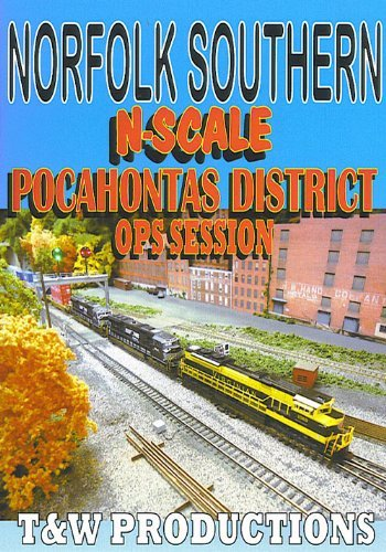 N Scale Pocahontas District Operations Session by Norfolk Southern
