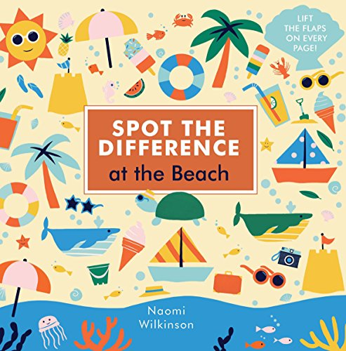 Spot the Difference: At the Beach por Naomi Wilkinson