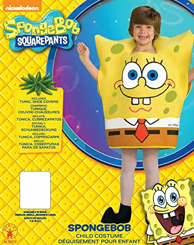 Image of Rubie's Official SpongeBob Squarepants, Child Costume - Large