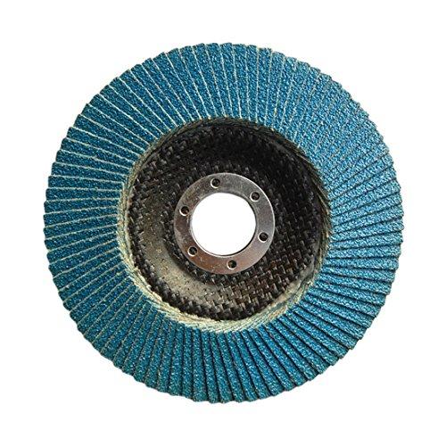 """Blau Schleifwerkzeug 1 stück 60 Grit Schleifscheiben Klappe scheiben 115mm 4,5"""" Winkelschleifer Schleifscheiben Metall Kunststoff Holz"""