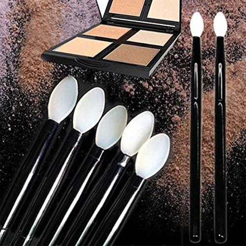 attachmenttou Silicone maquillage Sourcils Eyeliner Brush Fard à paupières cosmétique Faire Pinceaux Up Tool