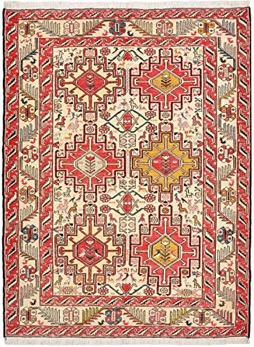 Nain Trading Kelim Soumak Seide 142x107 Orientteppich Teppich Orange/Rot Handgeknüpft Indien -
