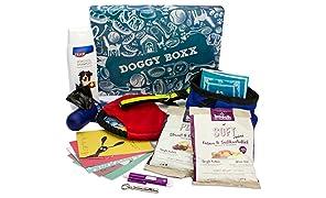 Doggy-Boxx (13 Teile) Geschenkbox Set für Hunde und Hundeliebhaber