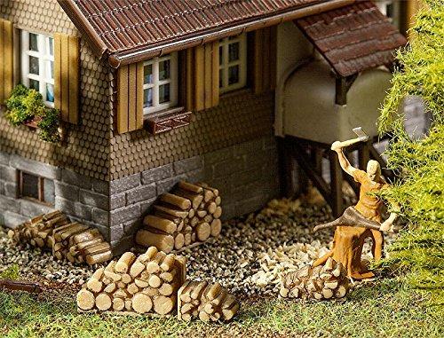 Faller 180940 Kleine Brennholzstapel 6 Stück