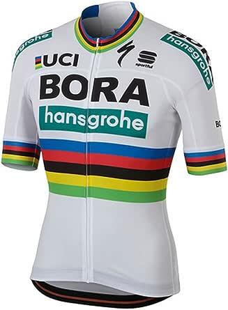 BERGRISAR Maillot de Cyclisme /à Manches Courtes pour Homme